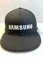 "New Era 9 Fifty ""SAMSUNG"" Embroidered MLB Snapback Baseball Cap/Hat~Black"