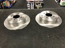 PEUGEOT 406 ALL MODELS 2 REAR BRAKE DISCS WITH INTEGRATED DRUMS