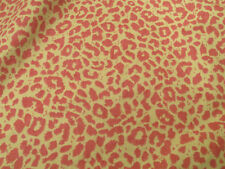 Bryant Industries Bryantguard Cheetah Pink Lime leopard decor upholstry fabric