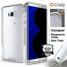 Galaxy S8 S8 Plus Shockproof Case Cover Hybrid Clear Cover for Samsung Crazy