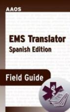 EMS TRANSLATOR FIELD GUIDE (SPANISH EDITION) By David Swadener Brand NEW
