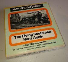 WALTON 8 HOME MOVIES * BBC * THE FLYING SCOTSMAN RUNS AGAIN * 8mm FILM BOXED