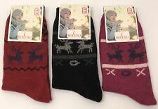 2 PAIA UK3.5-6.5 xatm 02-9000 Happy Socks Women/'s Montana Lattine Calzini Atletico
