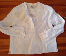 B5 NEW Madewell Stripe Button Down Top XXS NWT Work Boy Shirt Top Blouse Jcrew