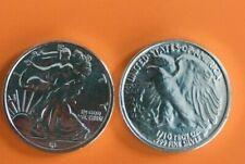 Ten 1//10 Oz Walking Liberty .999 Pure Silver Trade Units Prepper Bug Out Bags