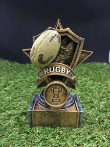 Rugby Trophy Award - FREE ENGRAVING - 130mm
