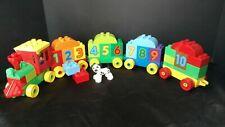 Lego Duplo 10558 Number Train Complete with Bonus Pieces (19-B)