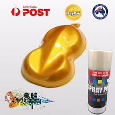 CUSTOM CANDY AEROSOL PAINT 400ML CANDY APPLE GOLD BASE HEAT BODY BRAKES CALIPERS