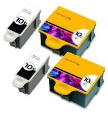 4-Pk/Pack For Kodak 10 XL Ink Cartridges ESP 3 5 7 9 3250 5210 5250 6150 9250
