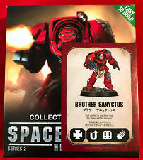 Space Marine Heroes Series 2 Brother Sanyctus Terminator Lightning Claws WH40k