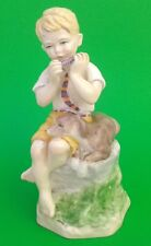 Vintage Royal Worcester Figure JUNE 3456 From F.G.Doughty's Months of  Year