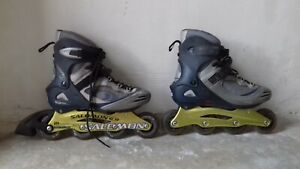 Rollers homme Salomon, taille 42, solide, qqs traces d'usage