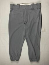 Tampa Bay Rays Majestic Athletic Pants Men's Gray Knee Length Used 36-40