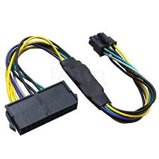 24-Pin to 8-Pin 18AWG ATX Power Supply Adapter Cable for Dell Computers