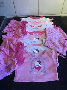 Build A Bear Pink Clothes Bundle + Hello Kitty