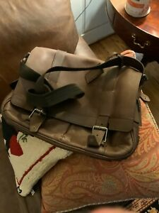 Belstaff Canterbury Mahogany Briefcase/Messenger Bag, Made in UK, Beautiful!