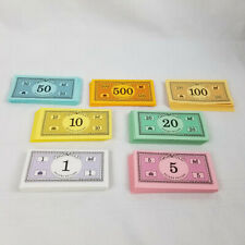 Monopoly Deluxe 1995 Replacement Money - All Denominations