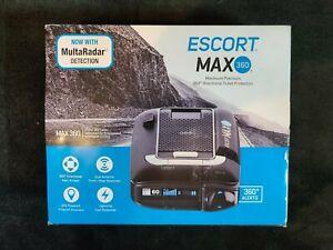 ESCORT MAX360 Laser Radar Detector GPS Dual Antenna Bluetooth OLED Escort Live