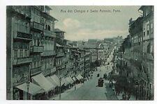 PORTUGAL PORTO rua dos clerigos e santo antonio bleue