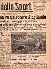 LA GAZZETTA DELLO SPORT DEL LUNEDI'  30 NOVEMBRE  1942   NR 285