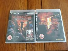 Resident Evil: Operation Raccoon City & Resident evil 5 PS3 Games - Free Post