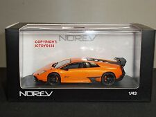 NOREV 760027 LAMBORGHINI MURCIELAGO LP670-4 SUPER VOLOCE ORANGE DIECAST CAR