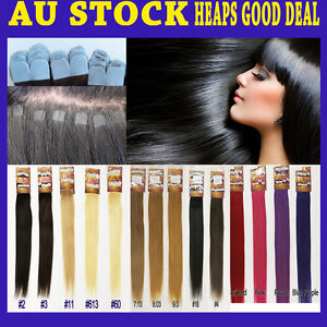 """18""""-19"""" Micro Tape Remy Human Hair Extension New Technique More Invisible &Comfy"""
