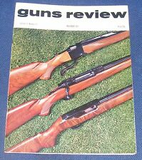GUNS REVIEW MAGAZINE NOVEMBER 1971 - PRINCE'S CARBINES/THE BEST OF BOTH GUNS