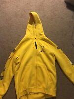 Nwt Air Jordan Zip Up Hoodie XL Yellow
