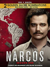 Narcos: Season 1 (DVD, 2016, 4-Disc Set)