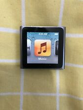 Apple iPod Nano 6th Generation Graphite 8GB