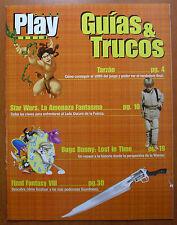 Guía Tarzán,La Amenaza Fantasma,Bugs B. Lost in Time,3ª parte Final Fantasy VIII