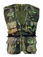 Stormkloth Men's Camouflage Waist Coat Fishing|Hunting|Outdoor Multi Pocket Vest