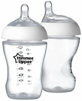 Tommee Tippee CLOSER TO NATURE BOTTLE 260ML X1 Baby Feeding BN