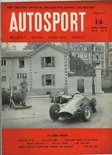 AUTOSPORT 22nd APRILE 1955 * Pau GRAND PRIX *