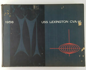 USS LEXINGTON  CVA-16  1958 Far East WESTPAC Cruise Book