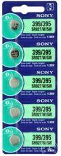 Sony Watch Batterie x 5, 1.55 V, oxyde d'argent, Bouton Cellule, 399 395