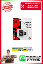 MICRO SD KINGSTON CLASSE 10 DA 32 GB GIGA BITE