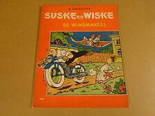 STRIP 2° DRUK TWEEKLEURENREEKS / SUSKE EN WISKE N° 38 - DE WINDMAKERS