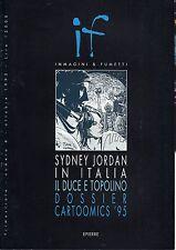 [JUK7] IMMAGINI & FUMETTI numero 4 SIDNEY JORDAN IN ITALIA