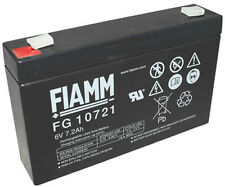 FIAMM | FGS fg10721 6v 7,2ah faston 4,8mm lc-r067r2p dryfit a506/6.5s mp7-6