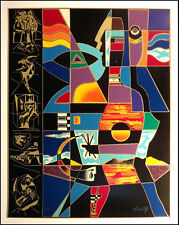 """Neal Doty """"A Man of Colors"""" Hand Signed serigraph on paper Make an Offer! L@@K!"""