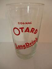 """beau verre a cocktail ancien publicitaire""""cognac OTARD"""""""