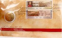 .2010 LIMITED EDITION UNC $1 PNC FDC. GOVERNOR LACHLAN MACQUAIRE 05273/15000.