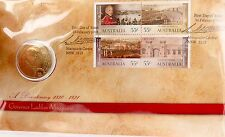 2010 LIMITED EDITION UNC $1 PNC FDC. GOVERNOR LACHLAN MACQUAIRE 05273/15000.