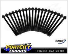 Head Bolt Set Nissan 6cyl Patrol GQ TB42 4.2L GU TB45 4.5L Petrol HBK4963