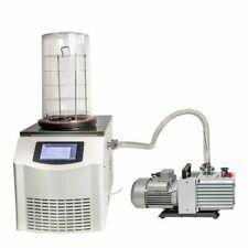 Lab Vacuum Freeze Dryer Lyophilizer Sublimation Freezing Drying Dehydrator Oven