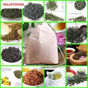 24 Borse Tè Cinese Oolong Tieguanyin Tè Nero Tè Verde Tè al Puer Tè Alle Erbe