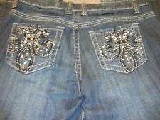 Zipper Brand Premium Denim Sz 2XL Distressed Relaxed Style ZI-LP6000         152