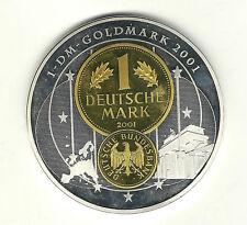 """Gigant Medaille """" Deutsche Mark 2001 """""""